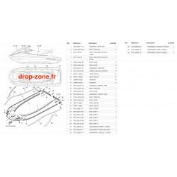 Tapis/ Listons VX Cruiser HO 19