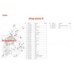 Echappement 2 1050 VX 19/ VX Cruiser 19/ VX Deluxe 19