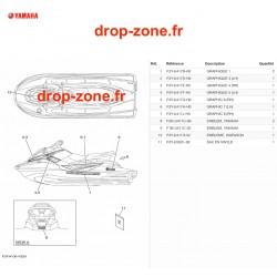 Stickers EX Sport Blanc 20