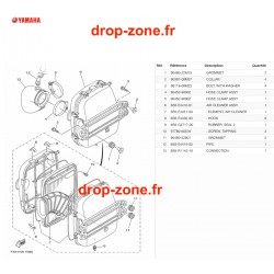 Filtre à air FX SVHO-Cruiser 20