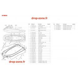 Tapis/ Listons GP 1800R SVHO Vert 20