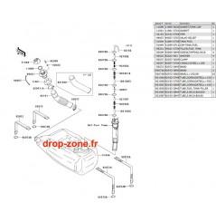 Réservoir carburant STX-15F 11-12