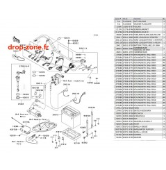 Equipement électrique STX-15F 13-14
