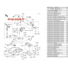 Equipement électrique STX-15F 05-07/ STX-12F 07