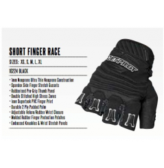 GANTS SHORT FINGER RACE JET PILOT