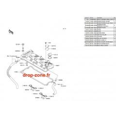 Couvre culasse Ultra LX 09/ Ultra 260-X 09-10