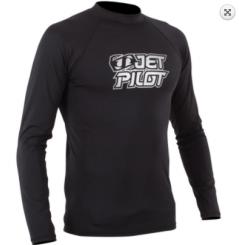 Jetpilot Logo L / S Rashguard Noir