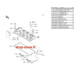 Couvre-culasse STX-15F 09-11