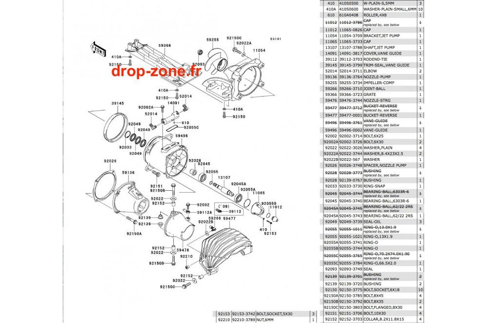 232 Turbine Lx 08 09 on Yamaha Fzr 1000