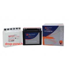 Batterie Tecnium Btx20l-Bs Pour Kawasaki Sans Entretien Livrée Avec Pack Acide