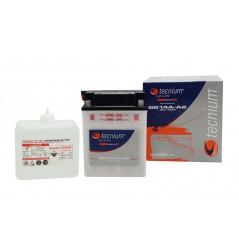 Batterie Tecnium Bb16cl-B Pour Sea Doo 2 tps et Zapata Conventionnelle Livrée Avec Pack Acide