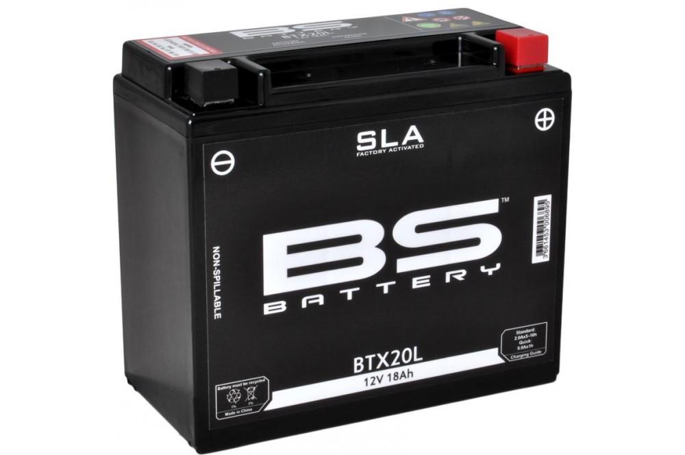 batterie bs btx20l sans entretien activ e usine pour. Black Bedroom Furniture Sets. Home Design Ideas