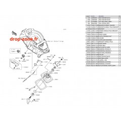 Base colonne Ultra LX 12-20/ Ultra 310-R 14-20/ Ultra 310 LX 14-20/ Ultra 310-X 14-20/ Ultra 300-X/ 300 LX 11-13