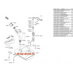 Réservoir carburant Ultra LX 08-09/ Ultra 250-X 07-08