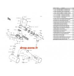 Echappement Ultra 310-R/ Ultra 310-X/ Ultra 310 LX 14-18