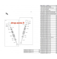 Soupapes Ultra 310-R/ Ultra 310-X/ Ultra 310 LX 14-18/ Ultra 300-X 11-13/ Ultra 300 LX 11-13