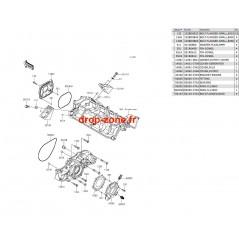 Couvercles moteur Ultra 310-R/ Ultra 310-X/ Ultra 310 LX 14-20/ Ultra 300-X 11-13/ Ultra 300 LX 11-13