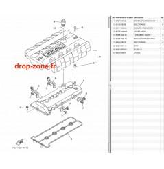 Couvre culasse FX SVHO 14-20/ FX SVHO Cruiser 14-20/ FZR-FZS SVHO 14-16/ GP 1800R SVHO 17-20/ FX SVHO Limited 17-20