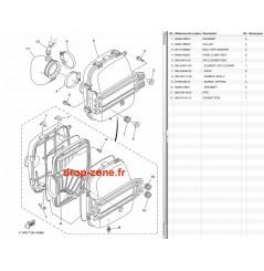 Filtre à air FX SVHO-Cruiser 14-17/  FZR-FZS SVHO 14-16/ FX SHO-Cruiser 08-15/ FZR-FZS SHO 09-13/ GP 1800 17