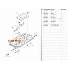 Carters inférieurs FX SVHO-Crui-Ltd 16-20/ FZR-FZS SVHO 16/ VXR/S 15-19/ VX Cruiser HO 16-19/ FX HO-Cruiser 16-20/ GP 1800 17-20