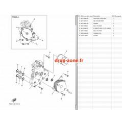 Refroidisseur huile FX SVHO 14-16/ FX SVHO Cruiser 14-16/ FZR-FZS SVHO 14-16