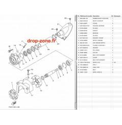 Transmission FX SVHO-Cruiser 14-18/ FX HO-Cruiser 12-18/ FZR-FZS SVHO 14-16/ SHO 12-13/ FX SHO-Cruiser 12-15