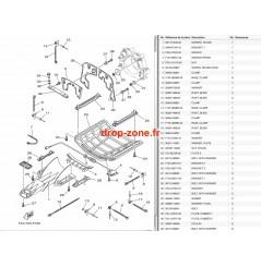 Plaque/ Ecope FX SVHO 14-17/ FX SVHO Cruiser 14-17