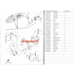 Système de cale FX SVHO-Cruiser 14-18/ FX HO-Cruiser 12-18/  FX SHO-Cruiser 12-15