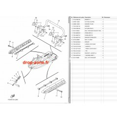 Coque arrière FX SVHO 15-18/ FX HO 16-18