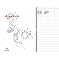 Cache guidon FX SVHO-Cruiser 14-16/ FX HO-Cruiser 14-16/ FX SHO-Cruiser 14-15