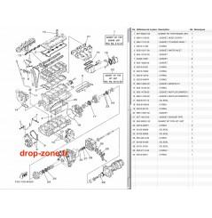 Kit réparation FX SVHO-Cruiser 14-17/ FZR-FZS SVHO 14-16/ FX SHO-Cruiser 13-15/ FZR-FZS SHO 13/ GP 1800 17