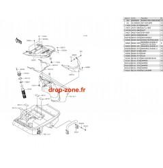 Coque arrière Ultra LX 15-16/ Ultra 310-R 14-20/ 310 LX 14-20/ 310-X 14-20