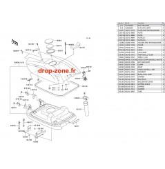 Capot moteur SX-R 800 03-04-05-06-07