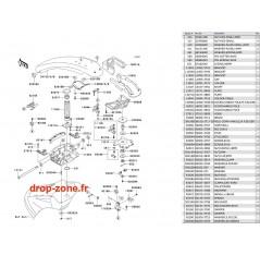 Bras SX-R 800 10