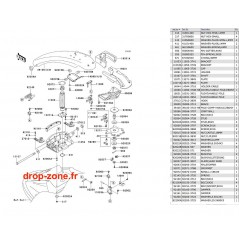 Bras SX-R 800 09