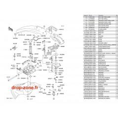 Bras SX-R 800 05-06-07-08