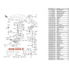 Bras SX-R 800 03-04