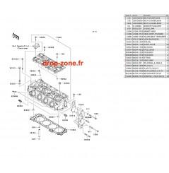 Culasse Ultra 300-X 11-13/ Ultra 300 LX 11-13
