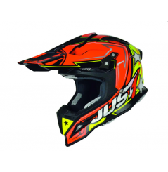 Casque Just1 J12 Aster orange/jaune