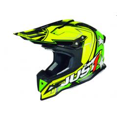 Casque Just1 J12 Aster jaune/vert