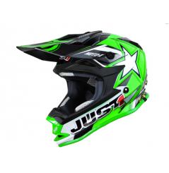 Casque JUST1 J32 Moto X vert