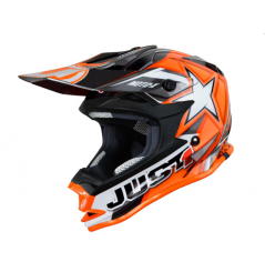 Casque JUST1 J32 Moto X orange