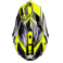 Casque JUST1 J32 Moto X jaune