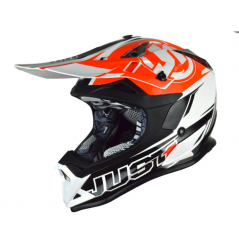Casque JUST1 J32.PRO Rave noir/orange