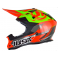 Casque JUST1 J32.PRO Rave rouge/lime