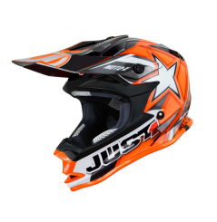 Casque JUST1 J32 Moto X Orange taille junior
