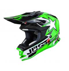 Casque JUST1 J32 Moto X vert taille junior