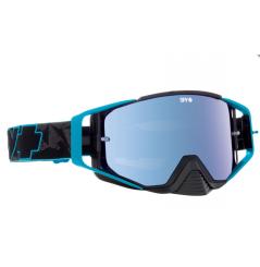 Masque SPY Ace Blue Highlighter noir/bleu écran AFC miroir bleu
