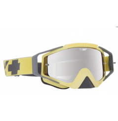 Masque SPY Omen Washed Out Yellow jaune écran AFC miroir argent