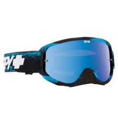 Masque SPY Woot Race Blue Masked bleu écran AFC miroir bleu